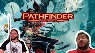 Primeiras impressões do pathfinder 2E