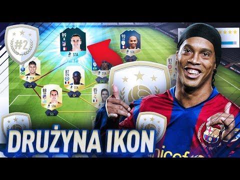 😱 MECZ PRZECIWKO 99 GRIEZMANNOWI!! - FIFA 18 DRUŻYNA IKON [#2]