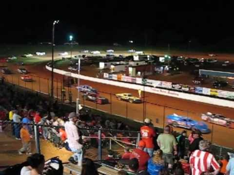 55-car Dry-in Cochran Motor Speedway 6Jul2013