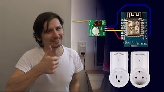 Remote power outlet home automation tutorial ESP8266