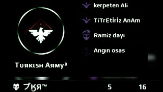 MC5||SQUAD BATTLE VS TURKISH ARMY||FATIH SAYAR AND JOKER RIP||NABS||FINAL