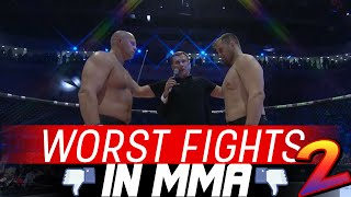 The Worst Fights In MMA 2