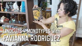 Linocuts + Monotypes with Favianna Rodriguez | KQED Arts