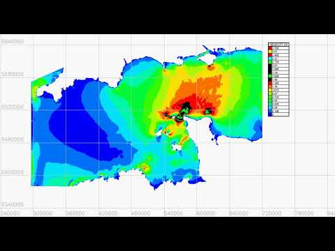Simulation Of Tidal Currents In The English Channel