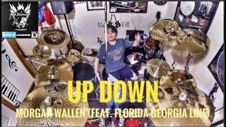 "Alex Shumaker 11 year old drummer ""Up Down"" Morgan Wallen (Feat. Florida Georgia Line)"
