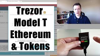 Trezor Model T  How to use with Ethereum & Eth Tokens