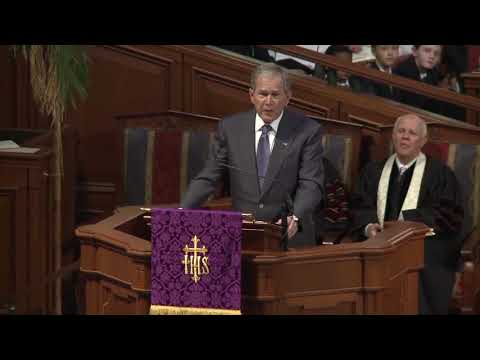 President George W. Bush remembers Gov. Zell Miller