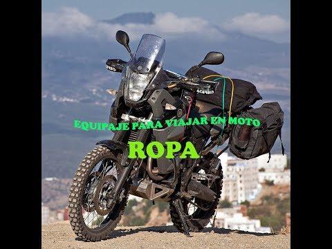 Equipaje para viajar en moto # Ropa y Accesorios.