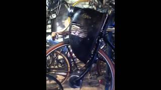 Cymota sur vélo Raleigh Popular