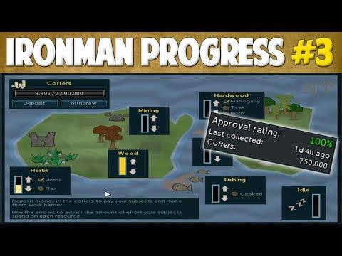 Runescape 2018 | Ironman Progress #3 - FIRST GOAL ACHIEVED!