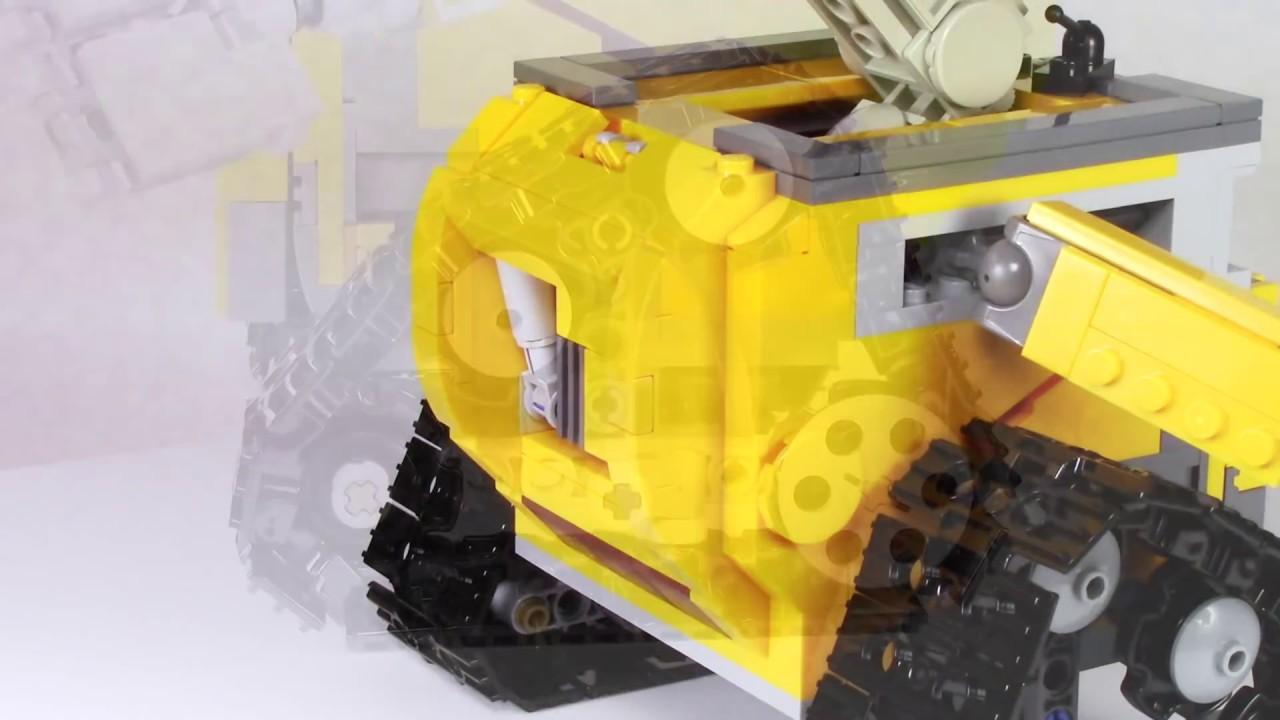 LEGO ideas 21303 WALL•E - обзор - YouTube