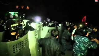 Fights in Armenian Gyumri after controversy over Russian base