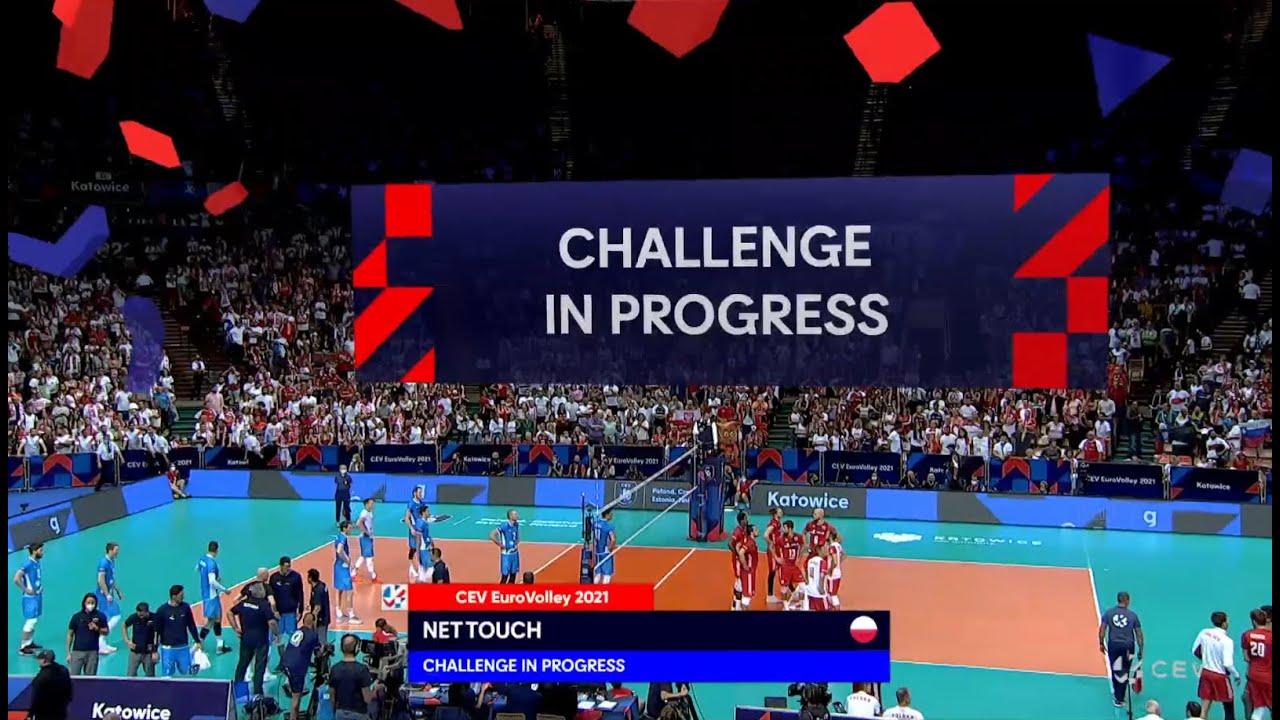 #EuroVolleyM - 4th Set Challenges POL vs SLO