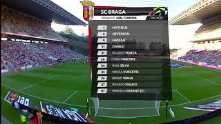 Video Gol Pertandingan Sporting Braga vs Chaves