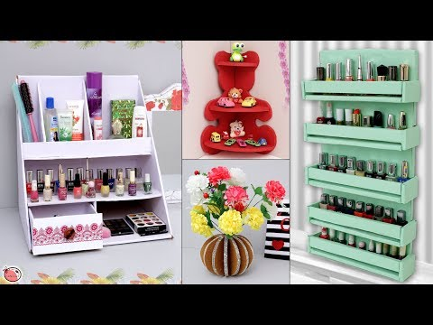 10 Best Home Organization & Useful Craft Ideas !!!