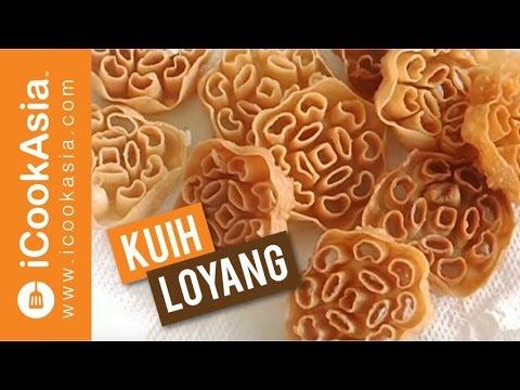 Resepi Kuih Loyang Honeycomb Cookies Kuih Tradisional Icookasia