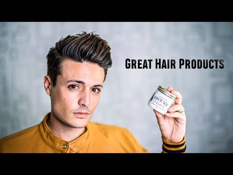 GREAT Hair Products | Creamy Clay with Strong Hold & Texture | Anchors Courage Clay | BluMaan 2017