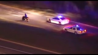 Police Chase Motorcycle