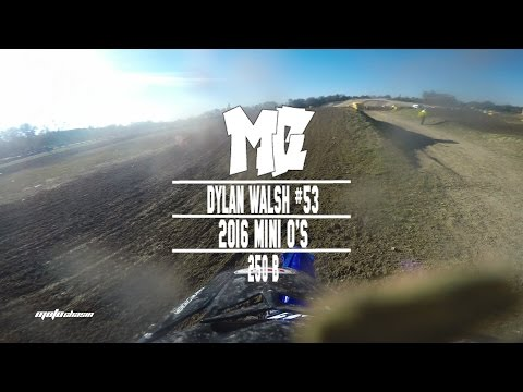 2016 Mini O's SX: What Even Just Happened? Ft. Dylan Walsh in 250B MotoChasin