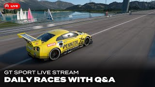 GT Sport Live: Daily Races and Q&A