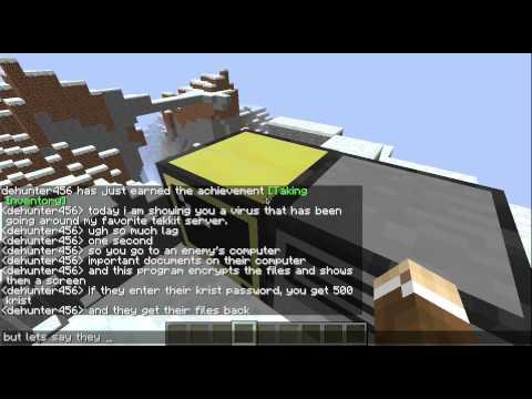 Repeat Minecraft - Computer Craft - KleebCo - Part 3 - Rednet