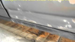 Приора  Убираем рыжики, красим(А я всё голову ломал, почему ржавеют только три двери, а в остальных местах ни пятнышка. Оказалось они меняны..., 2015-06-26T16:56:58.000Z)