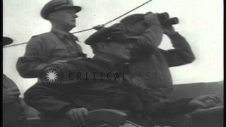 The combined operations of the United States Army, Air Force and Navy for fightin...HD Stock Footage