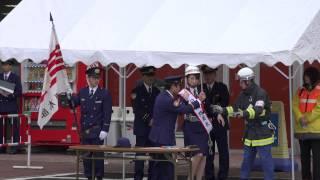 アピア・富山市消防局 合同消防訓練 '15年3月20日 4K撮影 池端忍 検索動画 18