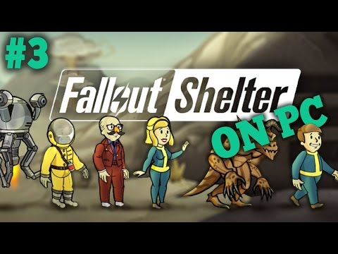 Fallout Shelter Let's Play - Part 3 ''MORE STORAGE'' (Fallout Shelter PC 1080p Gameplay)
