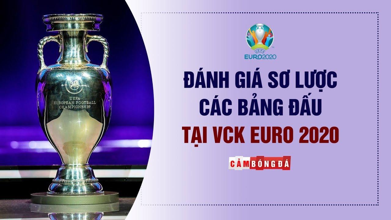 ĐÁNH GIÁ cục diện các bảng đấu tại VCK EURO 2020