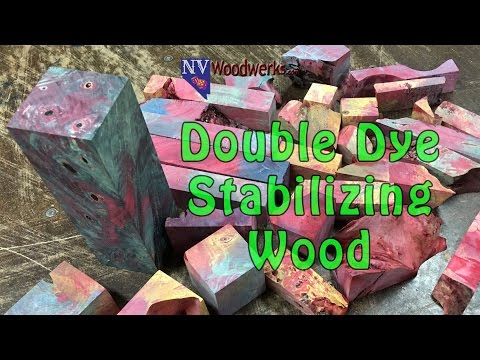 How to Double Dye Stabilize Wood