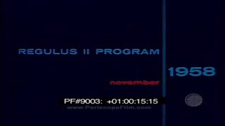 REGULUS II PROGRAM NOVEMBER 1958 9003