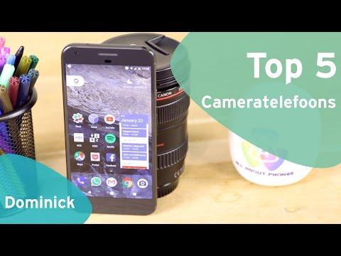 Top 5: de beste cameratelefoons (Dutch)