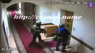 Как происходил захват Рады Крыма Камеры наблюдения