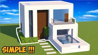 Download Video MINECRAFT : Tutorial Cara Membuat Rumah Modern (14) MP3 3GP MP4