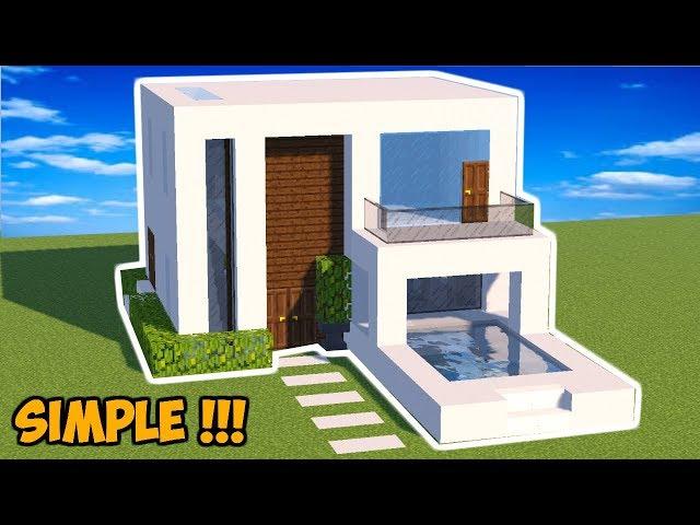 MINECRAFT : Tutorial Cara Membuat Rumah Modern (14)