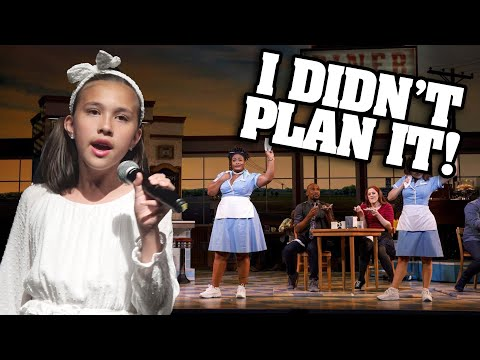 I DIDN&39;T PLAN IT Jillian&39;s  Concert - Singing Broadway&39;s Waitress