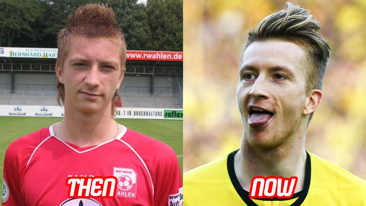 marco reus transformation before and after (hairstyle & body