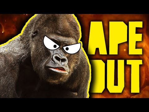 ANGRY GORILLA MAYHEM! | Ape Out |