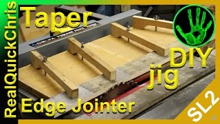 Taper/edge Jointer Jig Sled
