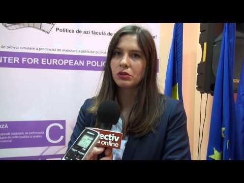 Alina Mogos, presedinte ONG CEPE, despre proiectul Policy Making Off
