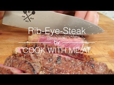 rib eye steak sous vide cook with me at youtube. Black Bedroom Furniture Sets. Home Design Ideas