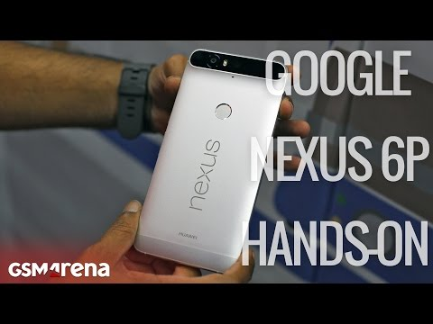 Nexus 6P hands on with demonstrations of Nexus Imprint, 240fps video & burst mode