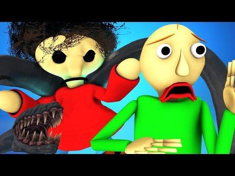 Балди vs Веном 4: Симбиот Вернулся (Baldi's Basics | Granny 2 | Гренни хоррор игра 3D Анимация)