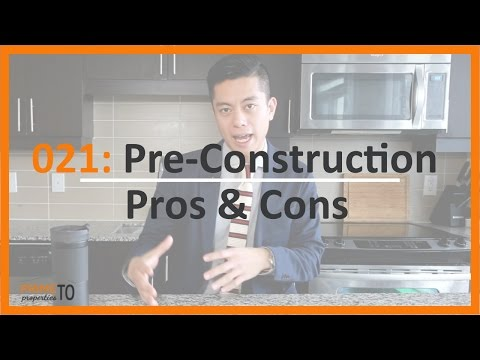 Thinking about Pre-Construction Condos for Investment?  Here are the Pros and Cons!