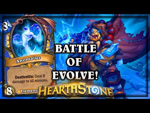 Battle of Evolve ~ Knights of the Frozen Throne Expansion Hearthstone Heroes of Warcraft