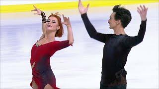 Произвольный танец. Танцы. Internationaux de France. Гран-при по фигурному катанию 2019/20