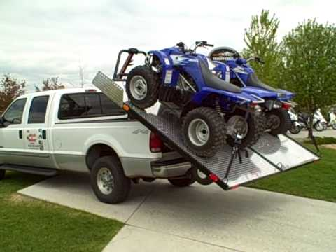 "Unloading 2 ATV ""four wheelers"" with your Elevation ..."