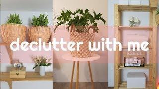 15 MINUTES DECLUTTER WITH ME quick de clutter minimize simplify