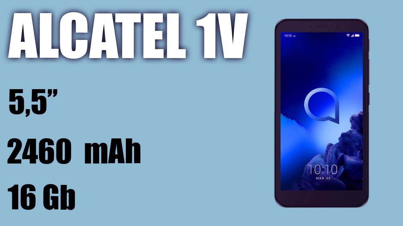 Обзор смартфона Alcatel 1v (2019)
